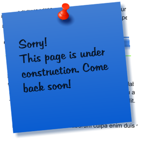 Sorry! This page is under construction. Come back soon!